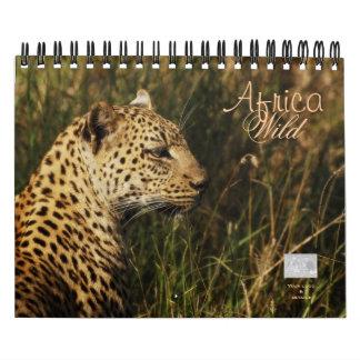 Calendarios salvajes 2011 de África - pequeños y