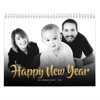 Calendars 2018 Family Photo Happy New Year