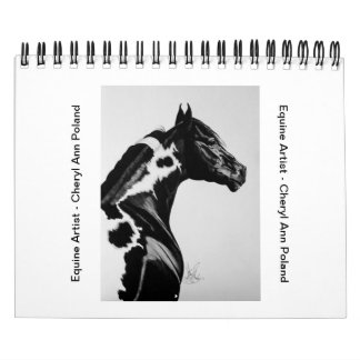 Calendars by Cheryl Ann Poland - Fine Horse Artist
