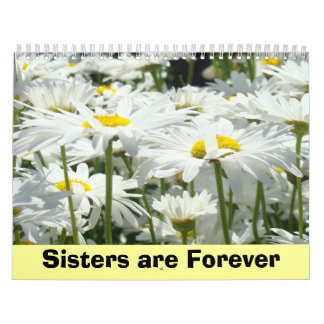 Calendars custom Sisters are Forever Holiday gifts