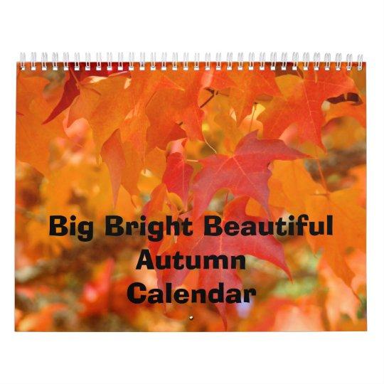 Calendars Nature Big Bright Beautiful Autumn Sky