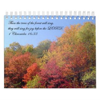 Calendars: Trees Calendar