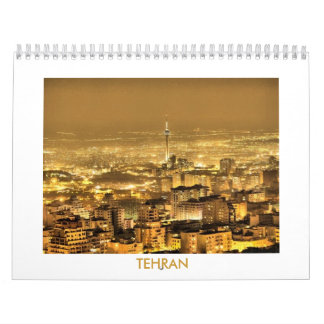 Calender 2010 with photos of Tehran-Iran Calendar