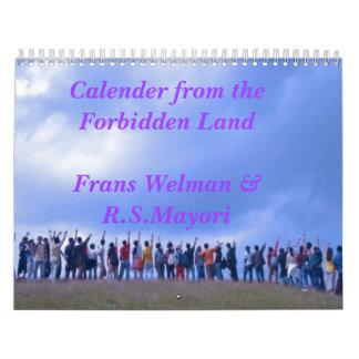 Calender from Forbidden land Calendar