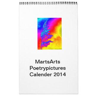 Calender MartsArts Poetrypictures Calendar