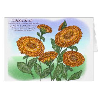 Calendula Card