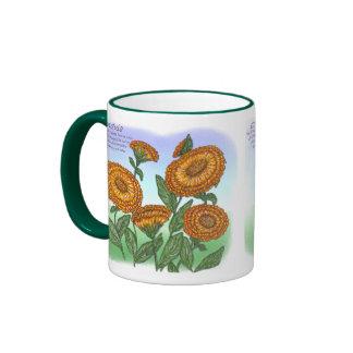 Calendula Ringer Coffee Mug