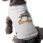 Calentador de banco camisetas de perro