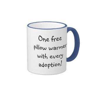 Calentadores de la almohada tazas de café