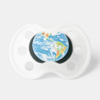 Calentamiento del planeta chupetes de bebé