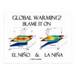 ¿Calentamiento del planeta? Cúlpelo en el EL Niño Postal