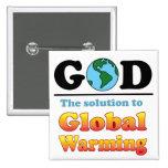 Calentamiento del planeta de dios pins