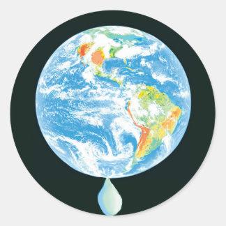 Calentamiento del planeta etiquetas