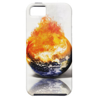 Calentamiento del planeta iPhone 5 fundas