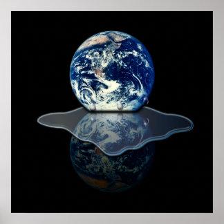 Calentamiento del planeta I Poster