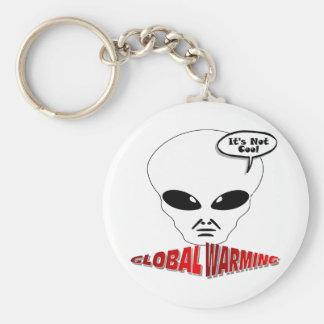 Calentamiento del planeta llaveros