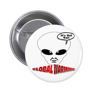 Calentamiento del planeta pin