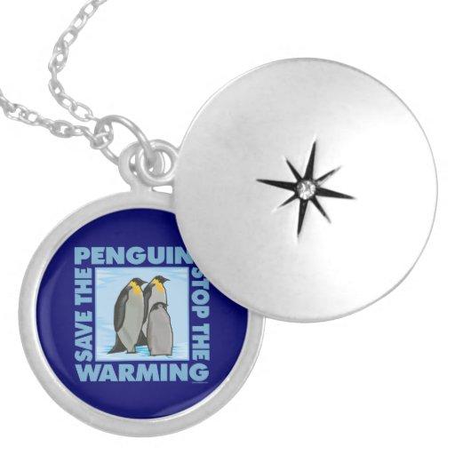 Calentamiento del planeta, pingüinos pendientes