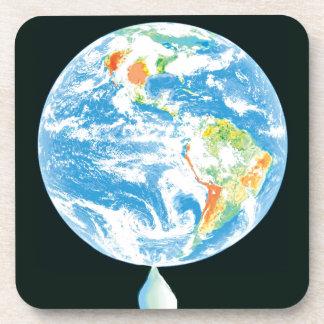 Calentamiento del planeta posavasos