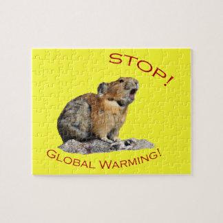 Calentamiento del planeta rompecabezas