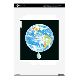 Calentamiento del planeta pegatinas skins para iPad 3