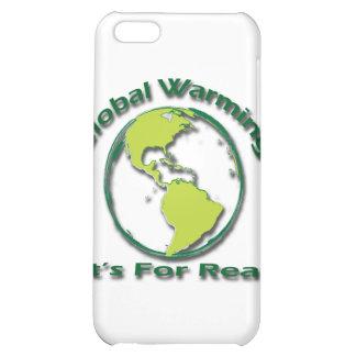 Calentamiento del planeta su para el verde real