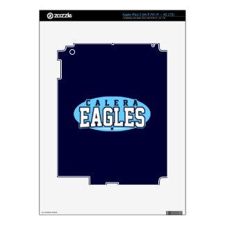 Calera High School; Eagles Decals For iPad 3