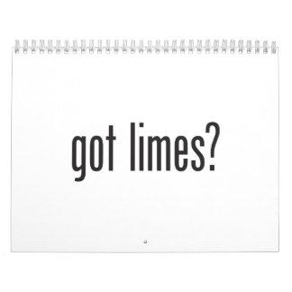 cales conseguidas calendarios