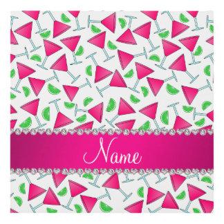 Cales rosadas blancas conocidas de encargo del cuadro