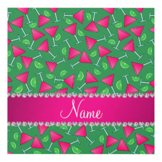 Cales rosadas verdes conocidas de encargo del cuadro