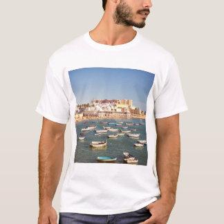 Caleta Beach In Cadiz, Andalusia, Spain T-Shirt
