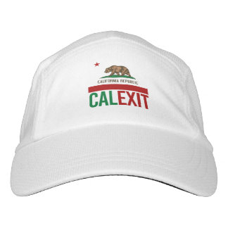 Calexit - California Exit Flag - -  Headsweats Hat