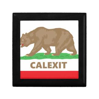 Calexit Jewelry Box