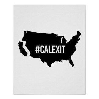 Calexit - -  poster