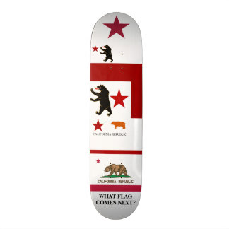Calexit What Comes Next Historical State Flag Skat Skateboard Deck