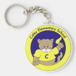 Caley Cougar Keychain