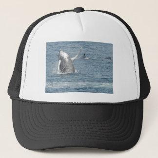 Calf breach trucker hat