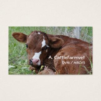 Calf business card