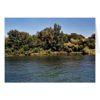 Calf Island coastline at Detroit River Internation Card