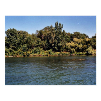 Calf Island coastline at Detroit River Internation Post Cards