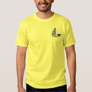 Calf Roper Embroidered T-Shirt