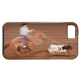 Calf roping iPhone SE/5/5s case