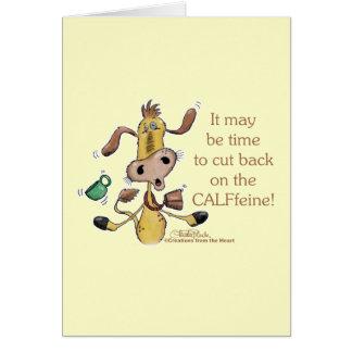 CALFfeine Cut Back Cards
