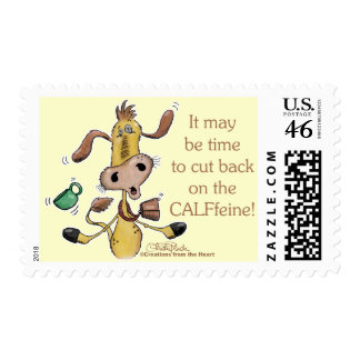 CALFfeine Cut Back Postage