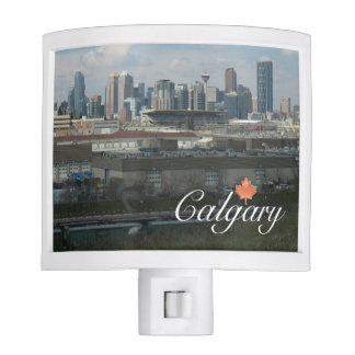 Calgary, Alberta Night Lite