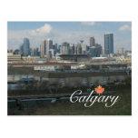 Calgary Alberta Tarjeta Postal
