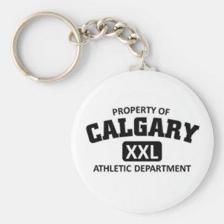 Calgary Athletic Department Key Chain