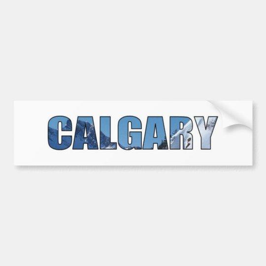 Calgary Bumper Sticker