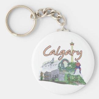Calgary - Canada.png Key Chain