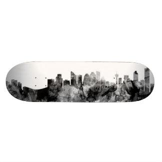 Calgary Canada Skyline Skateboard Deck